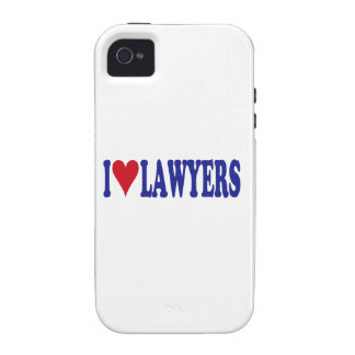 I Love Lawyers iPhone 4/4S Cases