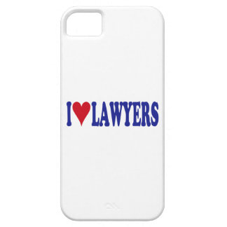 I Love Lawyers iPhone 5 Case