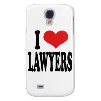 I Love Lawyers Samsung Galaxy S4 Case