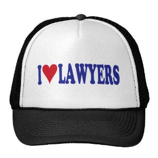 I Love Lawyers Trucker Hat