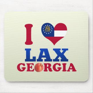 I Love Lax, Georgia Mouse Pad