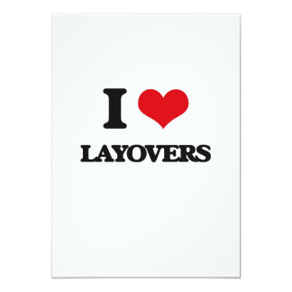 I Love Layovers Cards