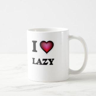 I Love Lazy Coffee Mug