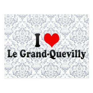 I Love Le Magnífico-Quevilly, Francia Tarjetas Postales