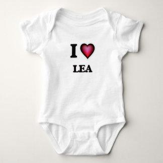 I Love Lea Baby Bodysuit