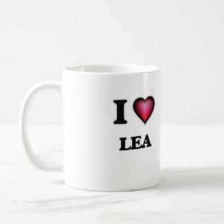 I Love Lea Coffee Mug