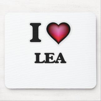 I Love Lea Mouse Pad