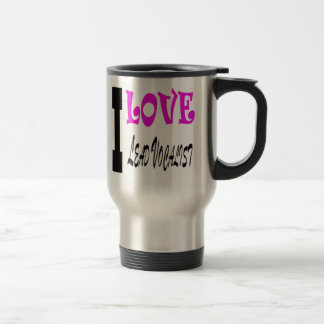 I Love Lead Vocalist Mug