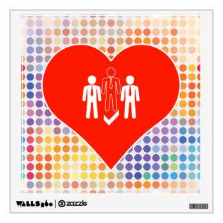 I Love Leader Wall Sticker