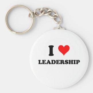 I Love Leadership Keychain