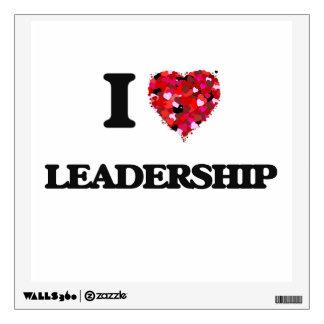 I Love Leadership Wall Decal