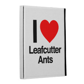 i love leafcutter ants iPad cases