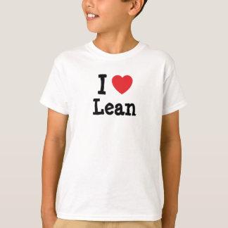 I love Lean heart T-Shirt