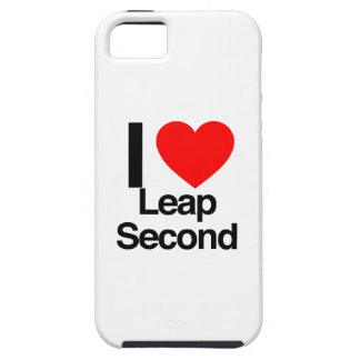 i love leap second iPhone 5 cases