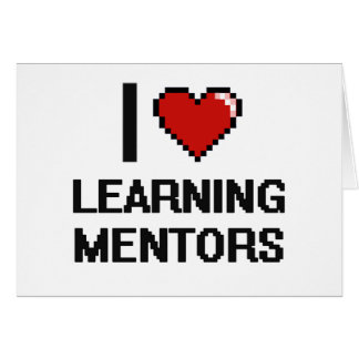 I love Learning Mentors Stationery Note Card
