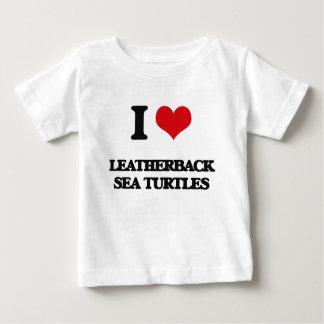 I love Leatherback Sea Turtles Infant T-shirt