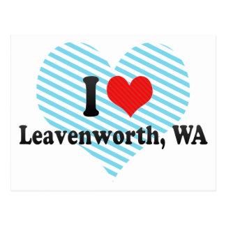 I Love Leavenworth, WA Postcards