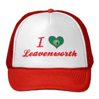 I Love Leavenworth, Washington Mesh Hats
