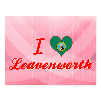 I Love Leavenworth, Washington Postcards
