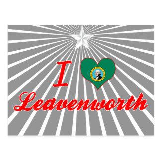 I Love Leavenworth, Washington Post Card