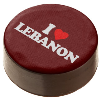 I LOVE LEBANON CHOCOLATE DIPPED OREO