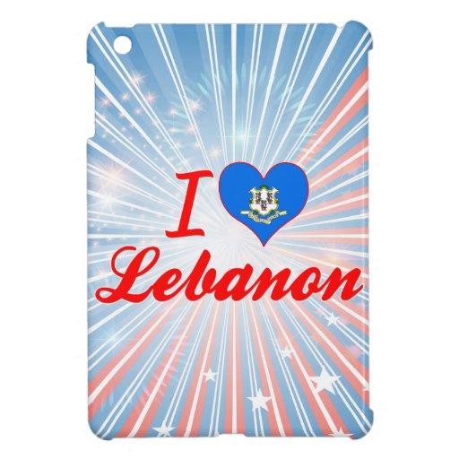 I Love Lebanon, Connecticut Cover For The iPad Mini
