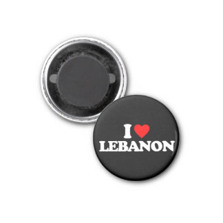 I LOVE LEBANON REFRIGERATOR MAGNETS