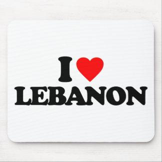 I LOVE LEBANON MOUSE PAD