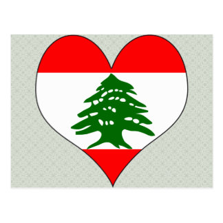 I Love Lebanon Post Cards