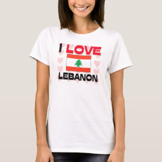 I Love Lebanon T-Shirt