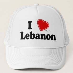 48731cbd957 I Love Lebanon Hats   Caps