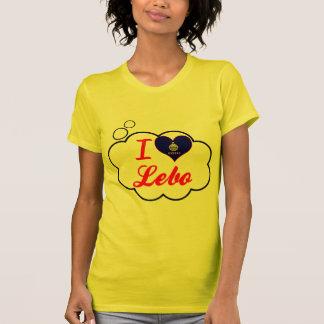I Love Lebo, Kansas T-Shirt