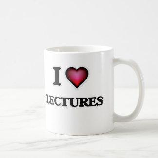 I Love Lectures Coffee Mug