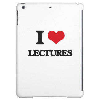 I Love Lectures Case For iPad Air