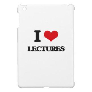 I Love Lectures iPad Mini Covers