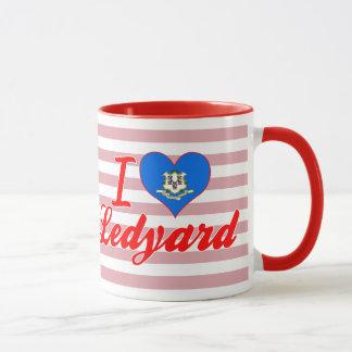 I Love Ledyard, Connecticut Mug