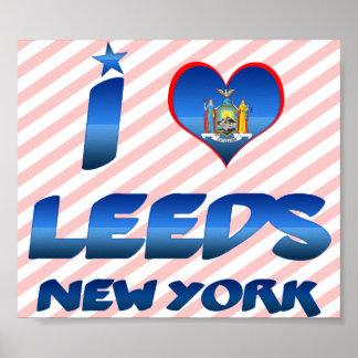 I love Leeds, New York Poster