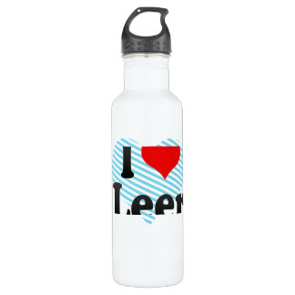 I Love Leer, Germany. Ich Liebe Leer, Germany 24oz Water Bottle