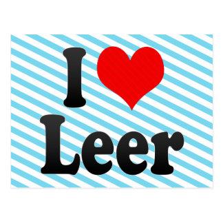 I Love Leer, Germany. Ich Liebe Leer, Germany Postcard