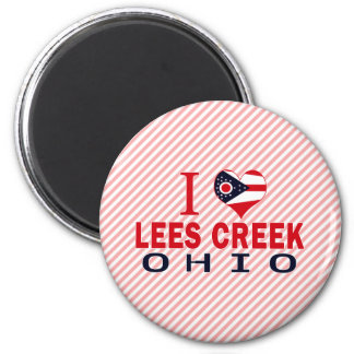 I love Lees Creek, Ohio Magnet