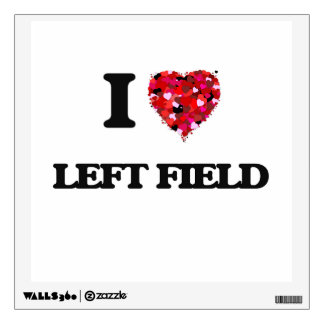I Love Left Field Wall Skins