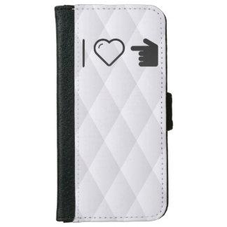 I Love Left Hands iPhone 6/6s Wallet Case