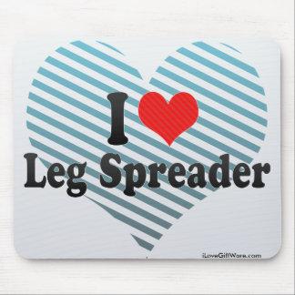 I Love Leg Spreader Mouse Pad