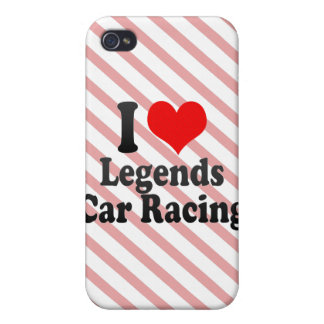 I love Legends Car Racing iPhone 4/4S Cover