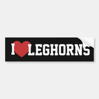 I love Leghorns Bumper Sticker