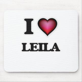 I Love Leila Mouse Pad