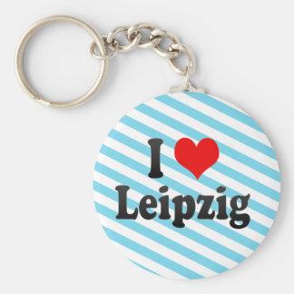 I Love Leipzig, Germany Keychains