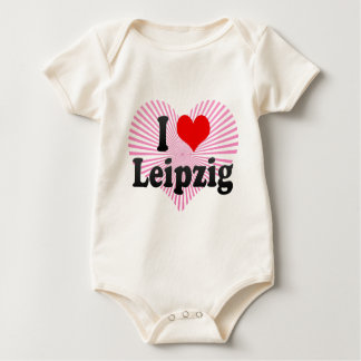 I Love Leipzig, Germany Baby Bodysuit