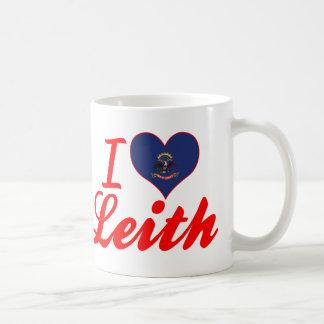 I Love Leith, North Dakota Coffee Mug