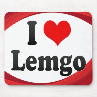 I Love Lemgo Germany Ich Liebe Lemgo Germany Mouse Pads